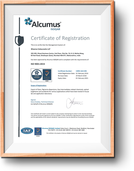 Certificates & Accreditations